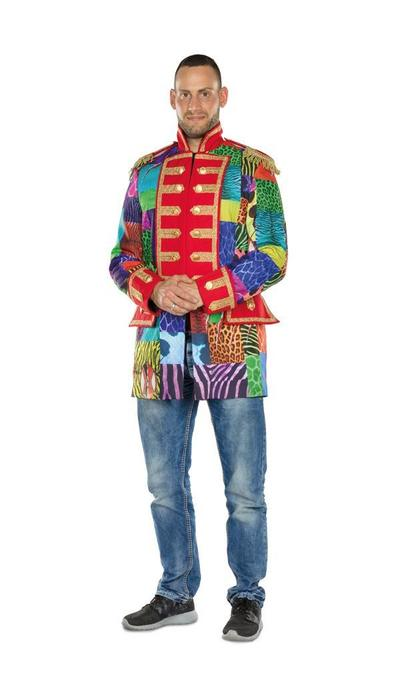 Carnavalsjas van patch stof