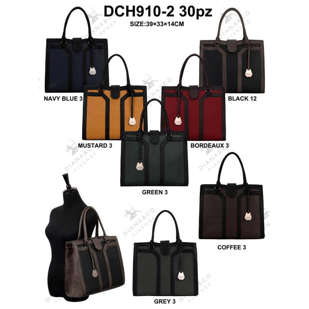 Diana&Co DCH910-2 Mixed colors 15 pieces