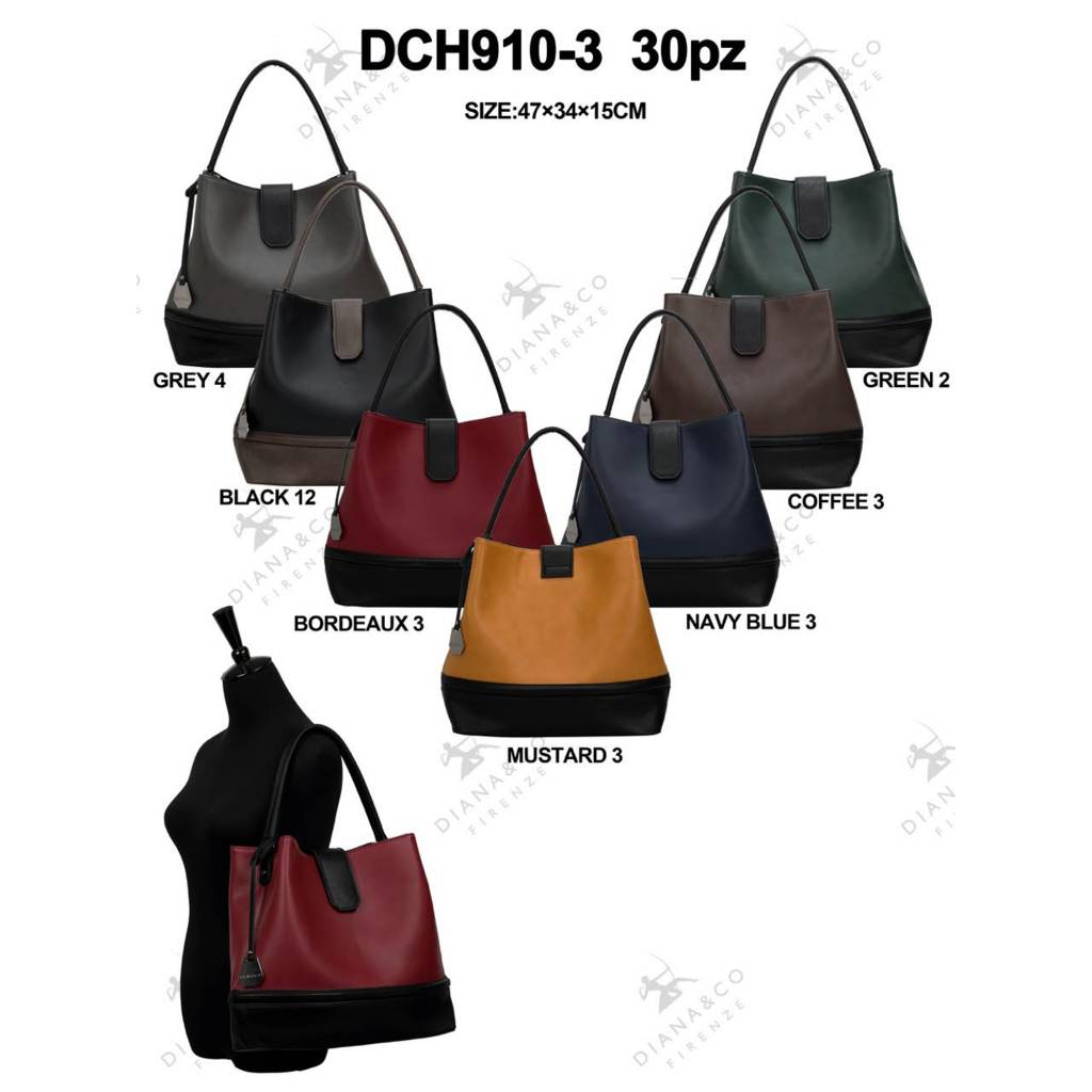 Diana&Co DCH910-3 Mixed colors 15 pieces