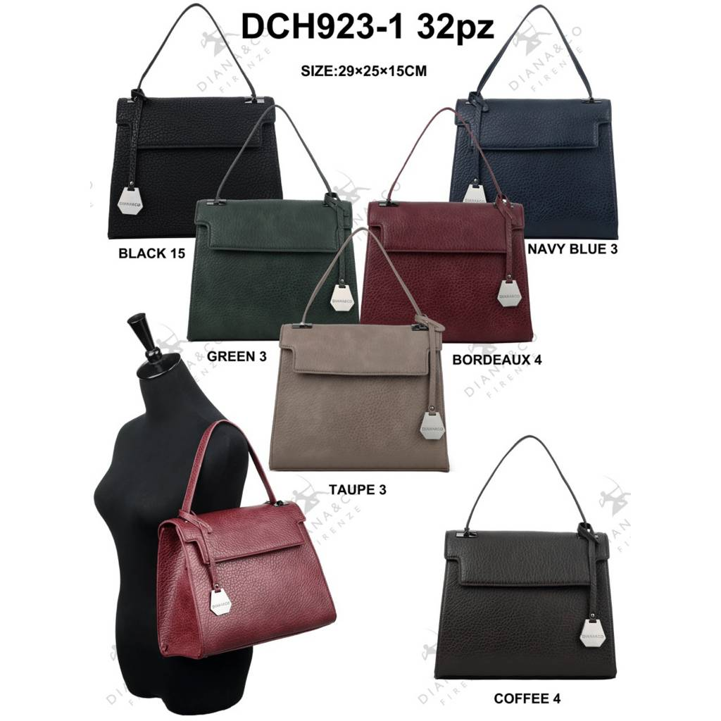 Diana&Co DCH923-1 Mixed colors 16 pieces
