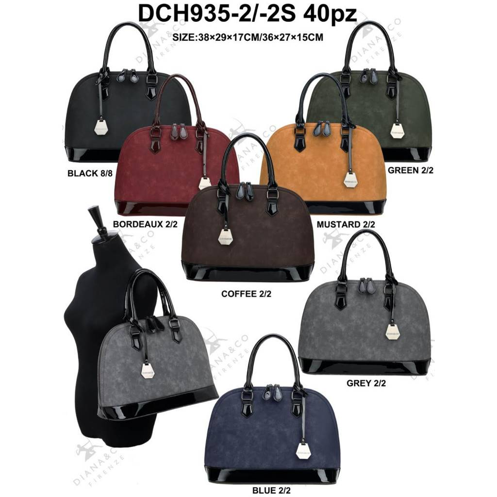 Diana&Co DCH935-2/2S Mixed colors 40 pieces