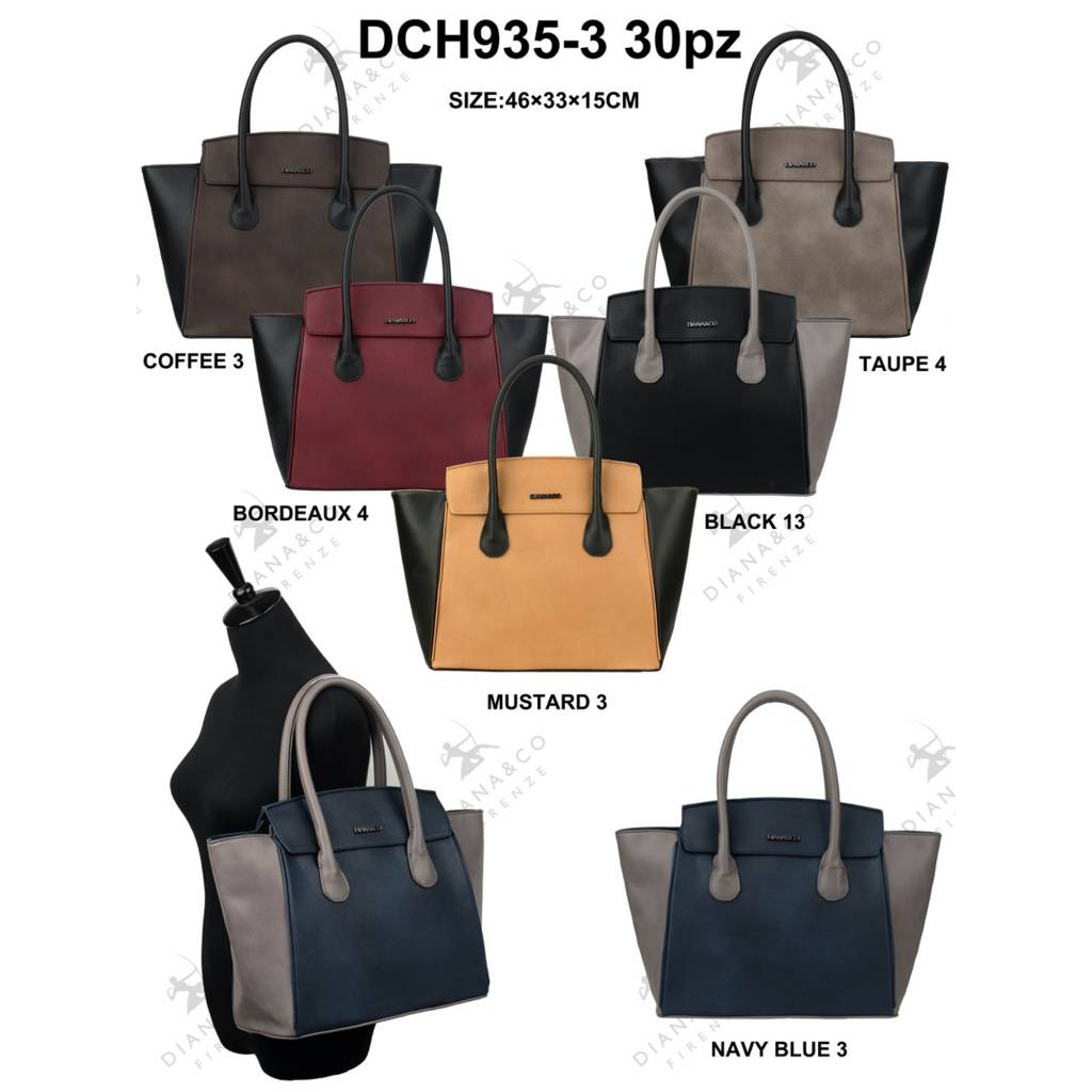 Diana&Co DCH935-3 Mixed colors 30 pieces