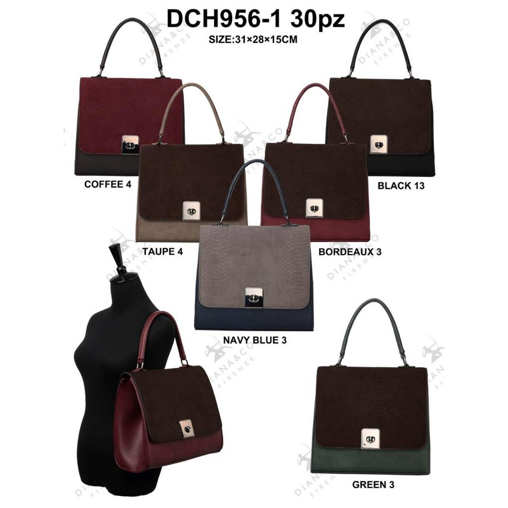 Diana&Co DCH956-1 Mixed colors 15 pieces