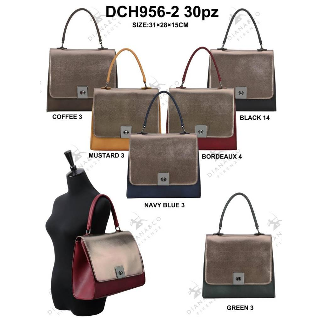 Diana&Co DCH956-2 Mixed colors 15 pieces