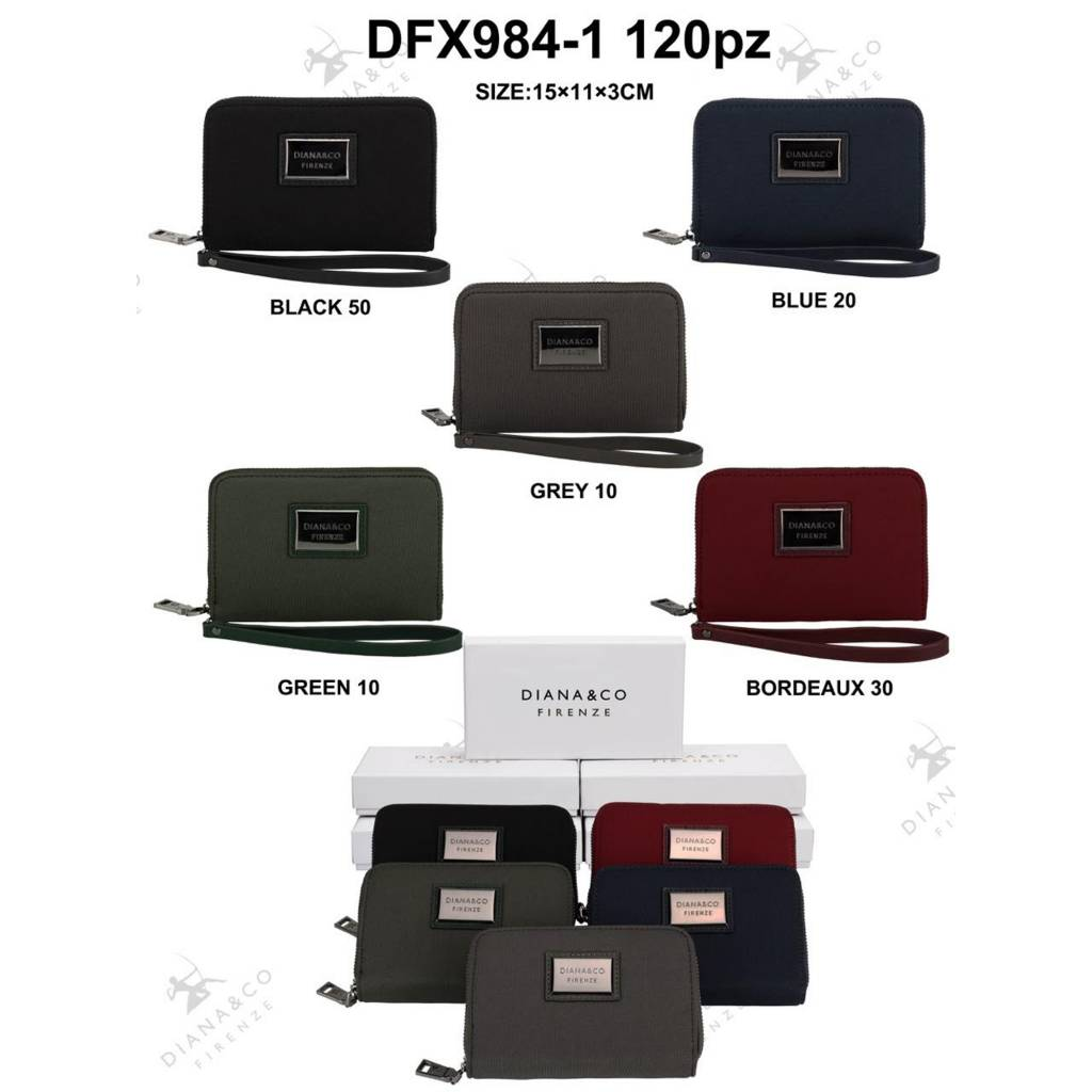 Diana&Co DFX984-1 Mixed colors 120 pieces