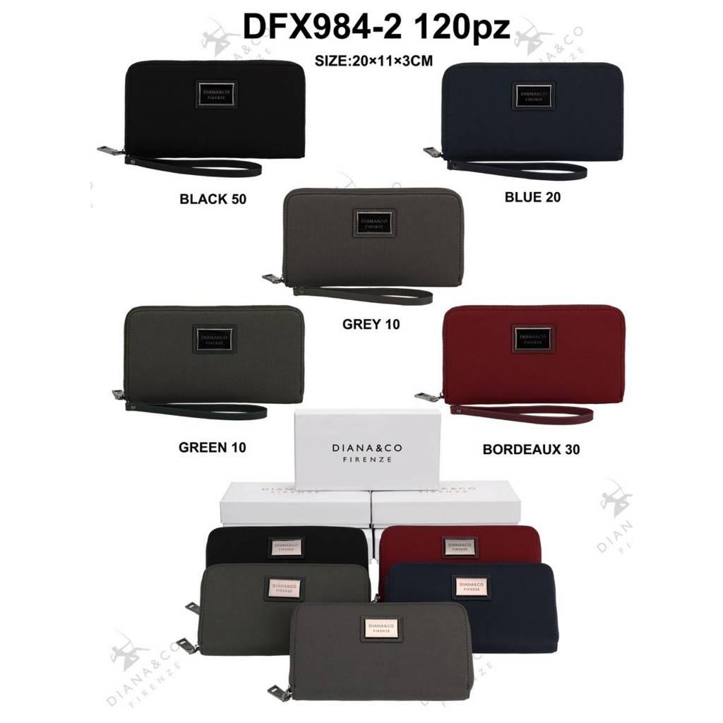 Diana&Co DFX984-2 Mixed colors 60 pieces