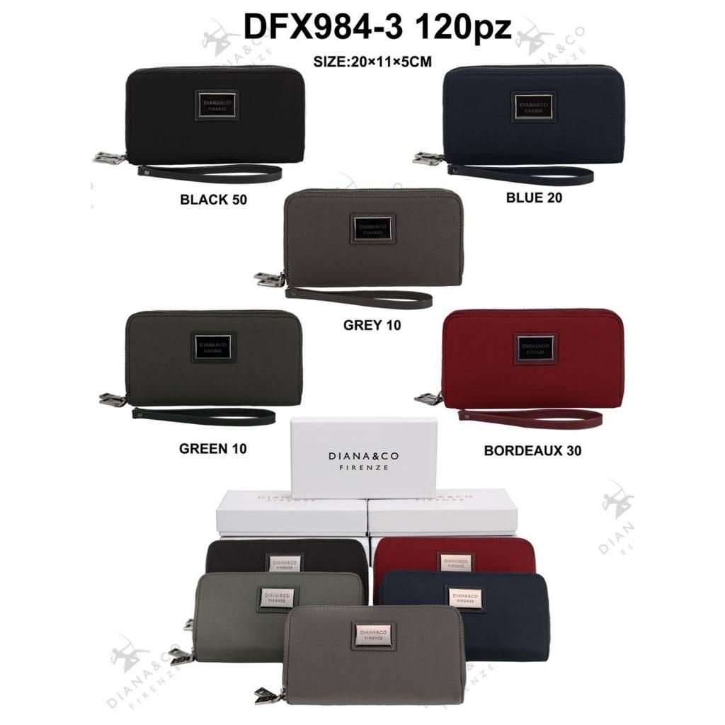 Diana&Co DFX984-3 Mixed colors 60 pieces