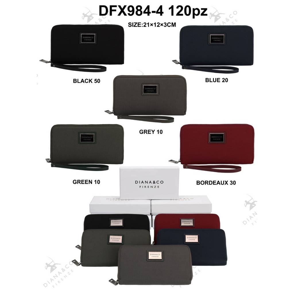 Diana&Co DFX984-4 Mixed colors 60 pieces