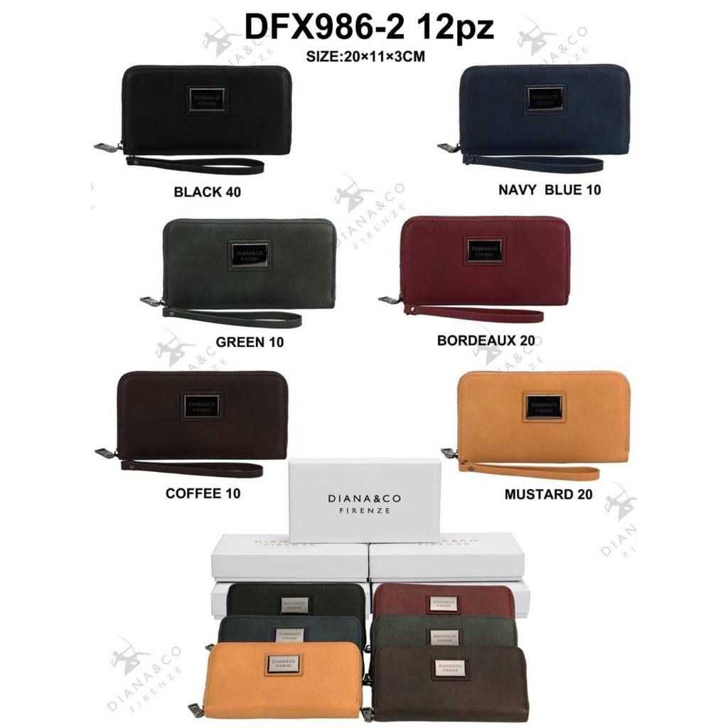 Diana&Co DFX986-2 Mixed colors 60 pieces