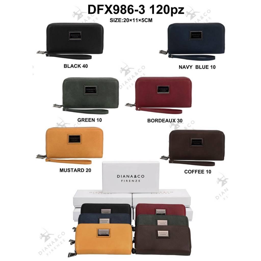 Diana&Co DFX986-3 Mixed colors 60 pieces