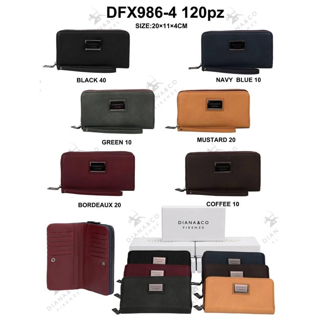 Diana&Co DFX986-4 Mixed colors 60 pieces