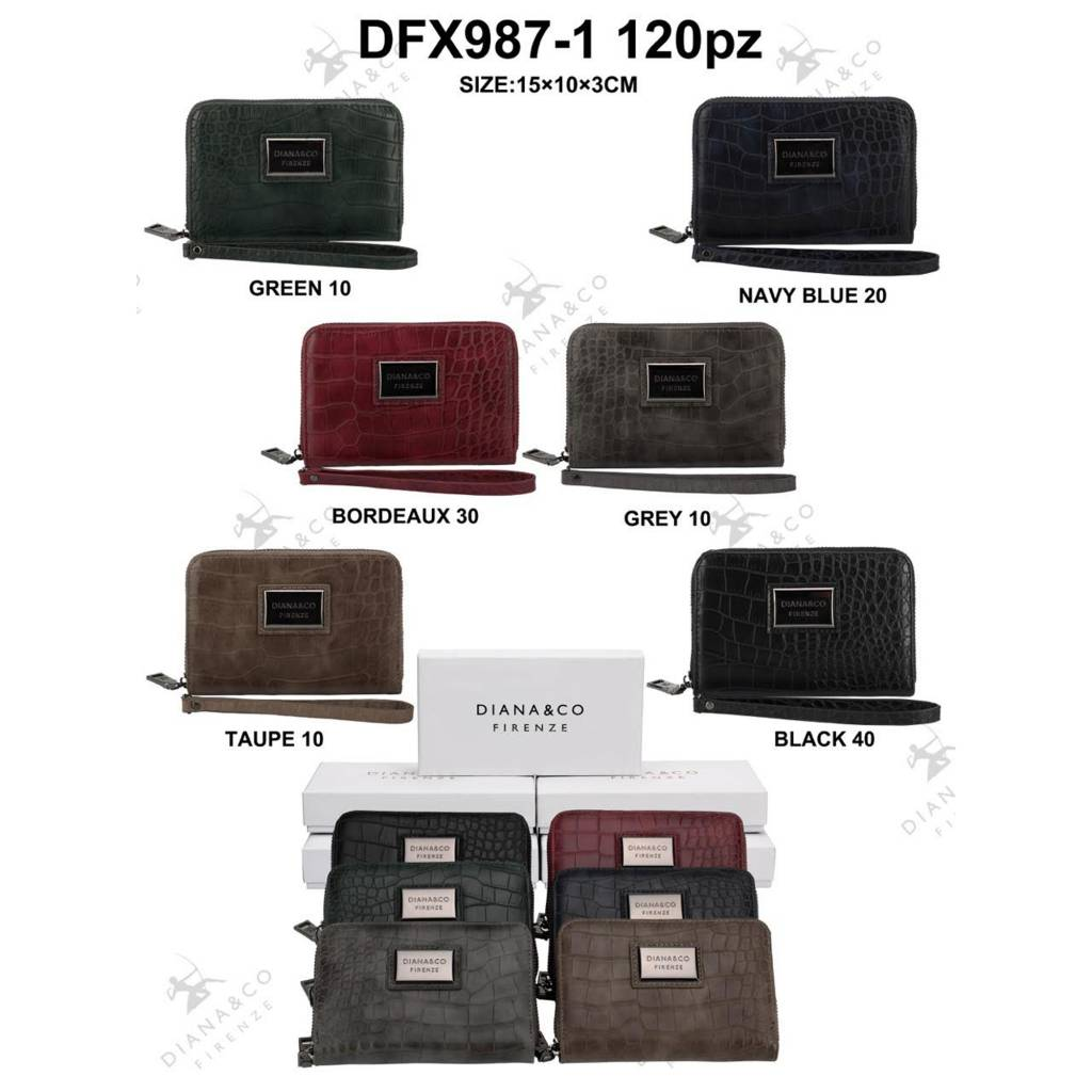 Diana&Co DFX987-1 Mixed colors 60 pieces
