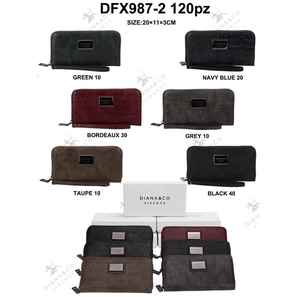 Diana&Co DFX987-2 Mixed colors 60 pieces