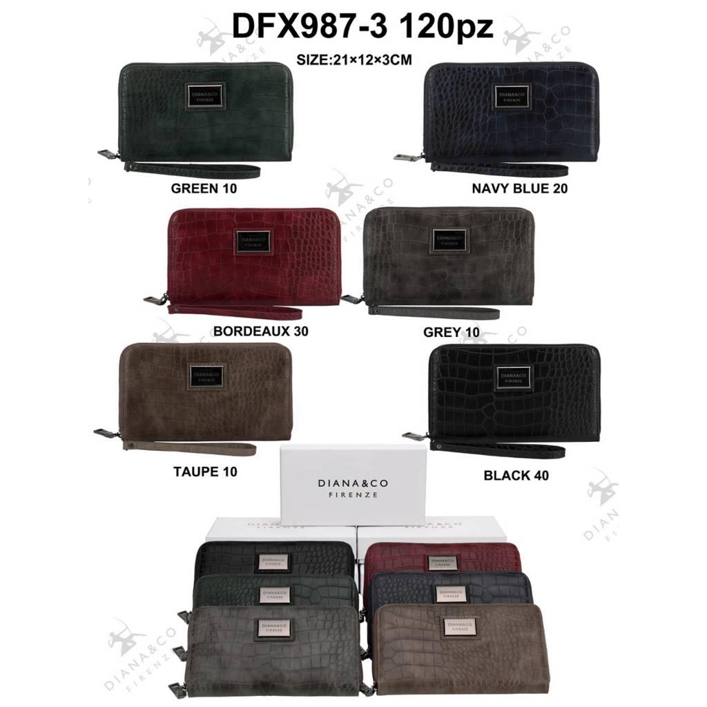 Diana&Co DFX987-3 Mixed colors 60 pieces