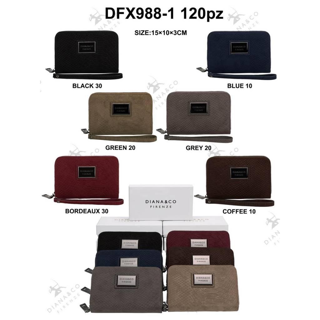 Diana&Co DFX988-1 Mixed colors 60 pieces