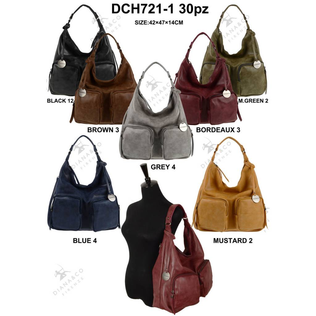Diana&Co DCH721-1 Mixed colors 30 pieces