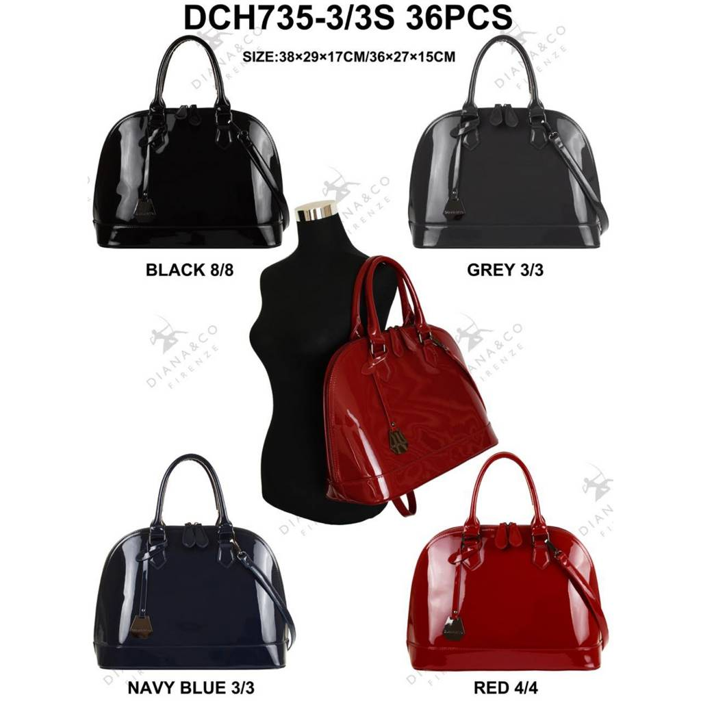 Diana&Co DCH735-3/3S Mixed colors 36 pieces