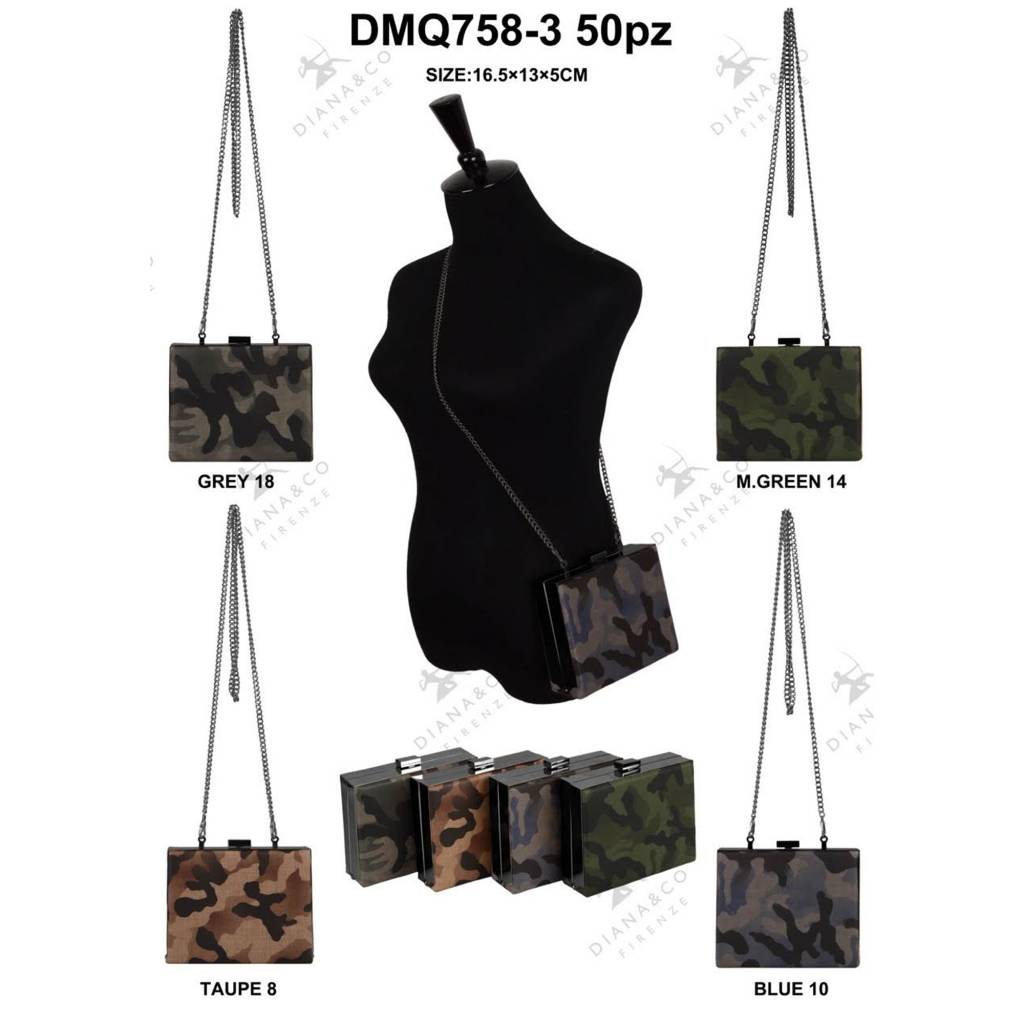 Diana&Co DMQ758-3 Mixed colors 50 pieces