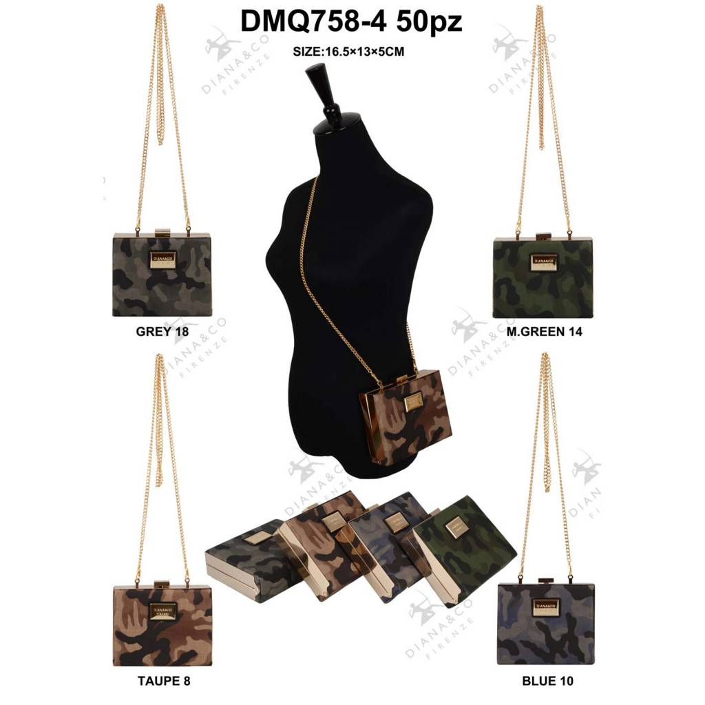 Diana&Co DMQ758-4 Mixed colors 50 pieces