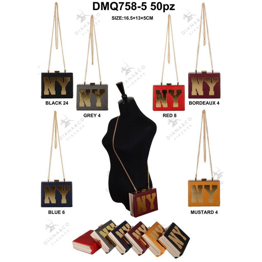 Diana&Co DMQ758-5 Mixed colors 50 pieces