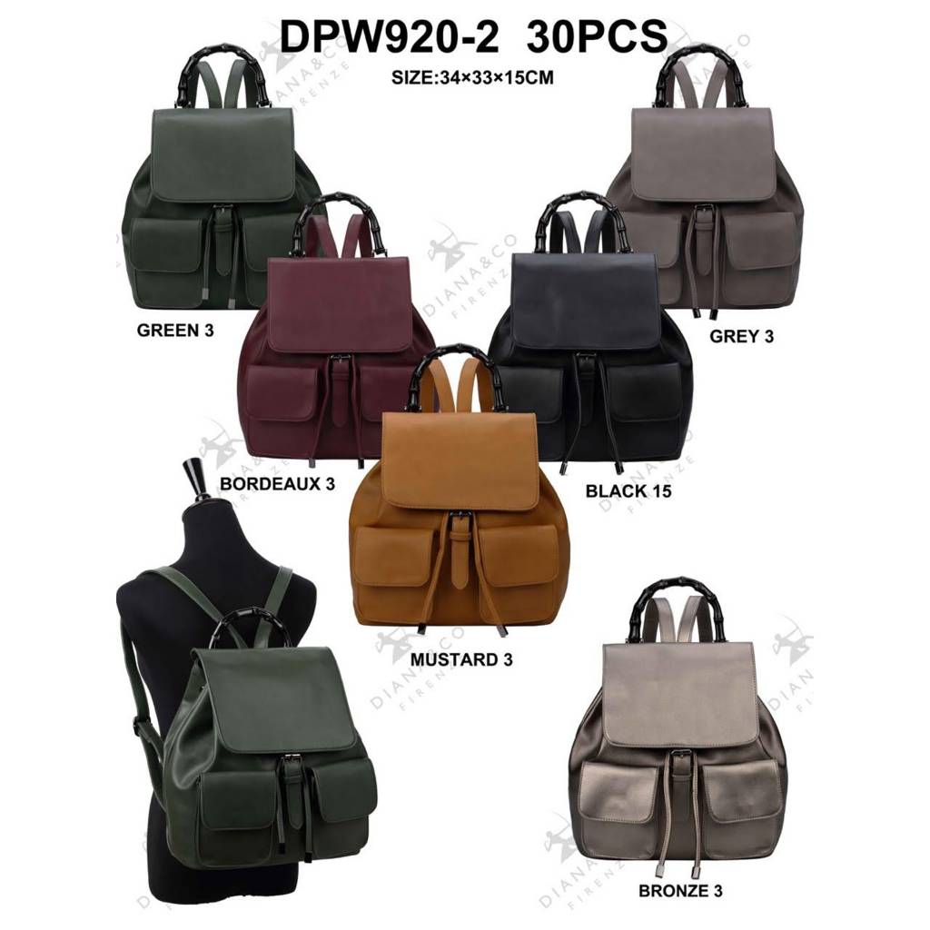 Diana&Co DPW920-2 Mixed colors 30 pieces
