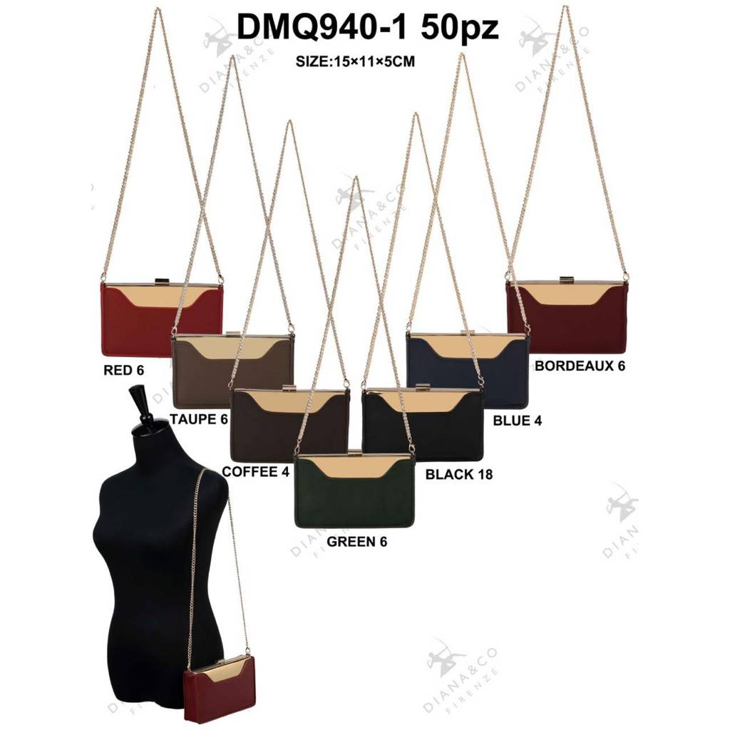 Diana&Co DMQ940-1 Mixed colors 50 pieces