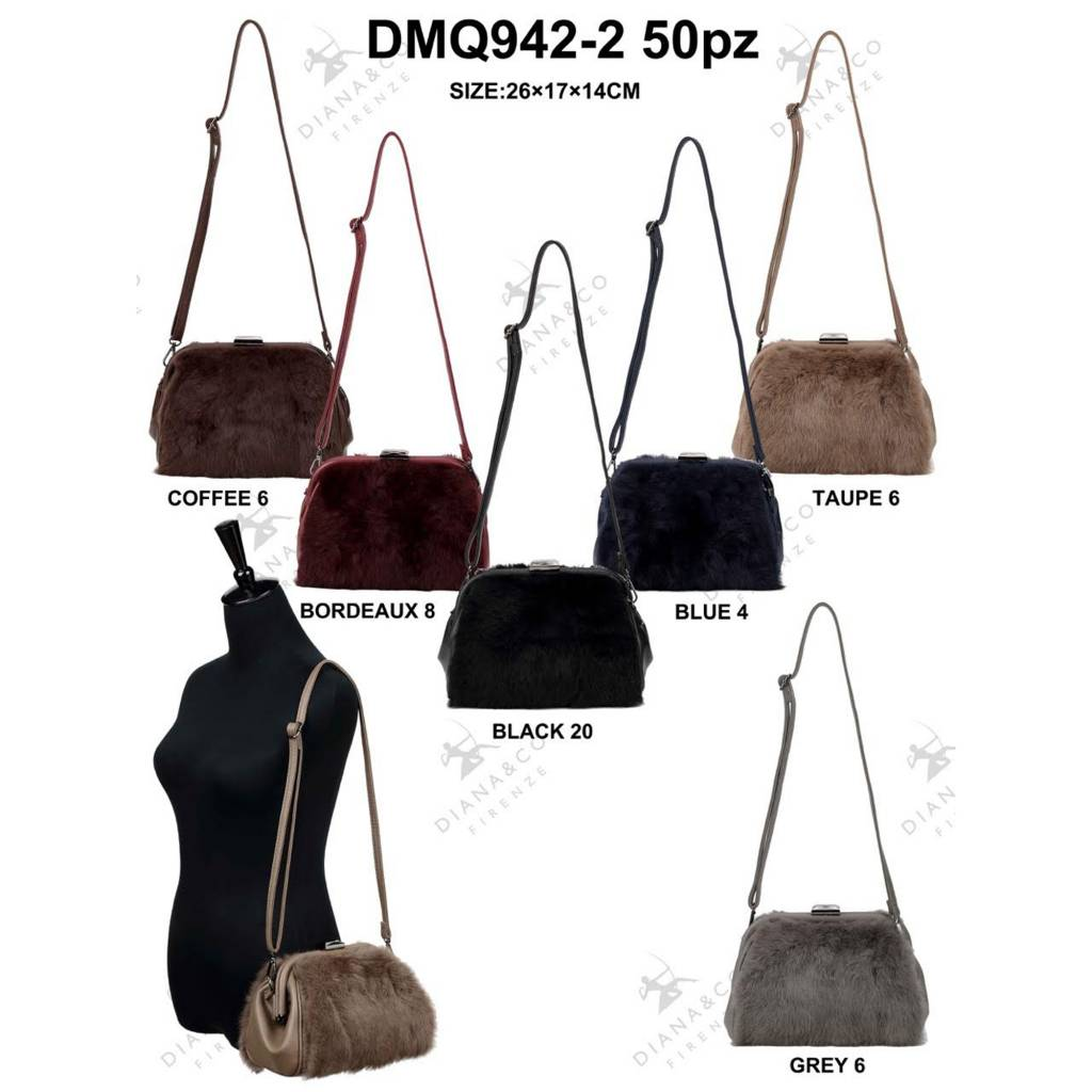 Diana&Co DMQ942-2 Mixed colors 50 pieces