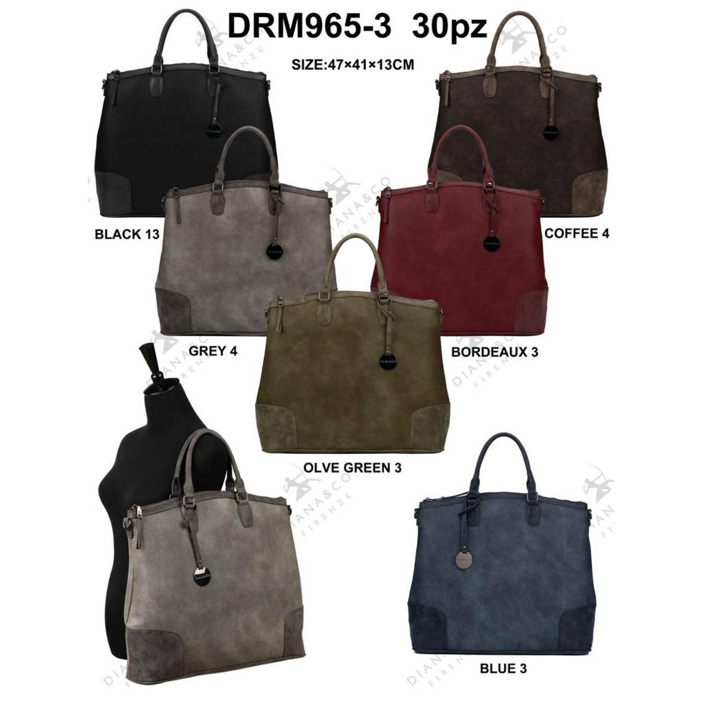 Diana&Co DRM965-3 Mixed colors 30 pieces