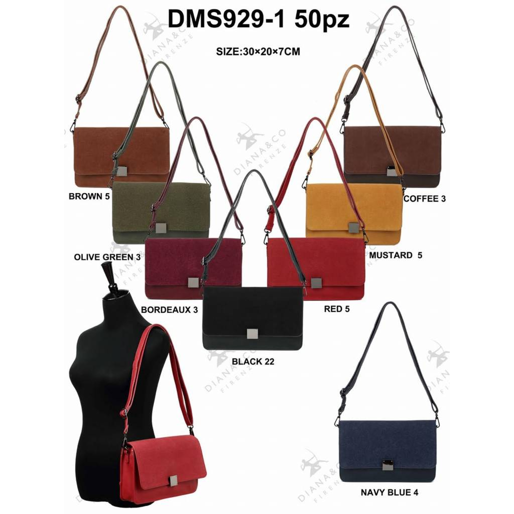 Diana&Co DMS929-1 Mixed colors 50 pieces