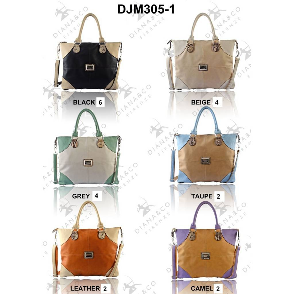 Diana&Co DJM305-1 Mixed colors 15 pcs