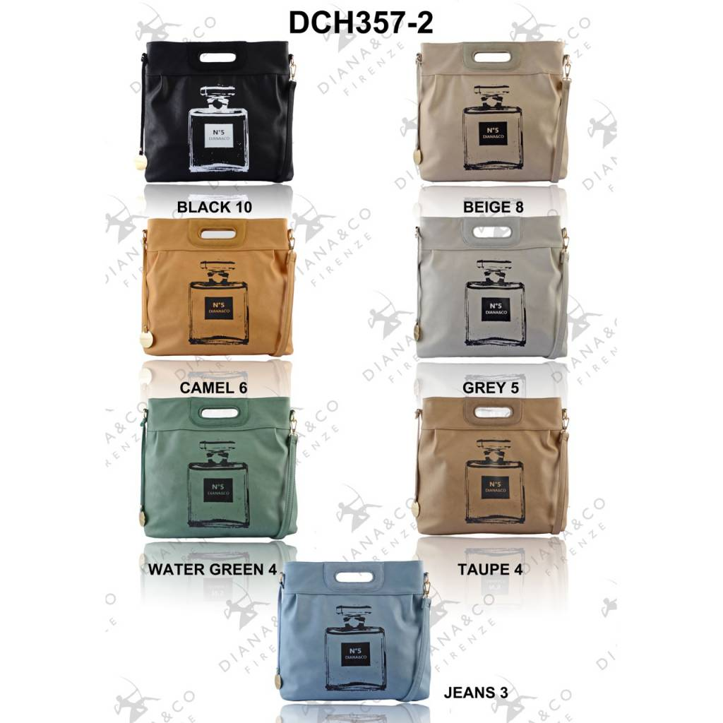 Diana&Co DCH357-2 Mixed colors 40 pcs