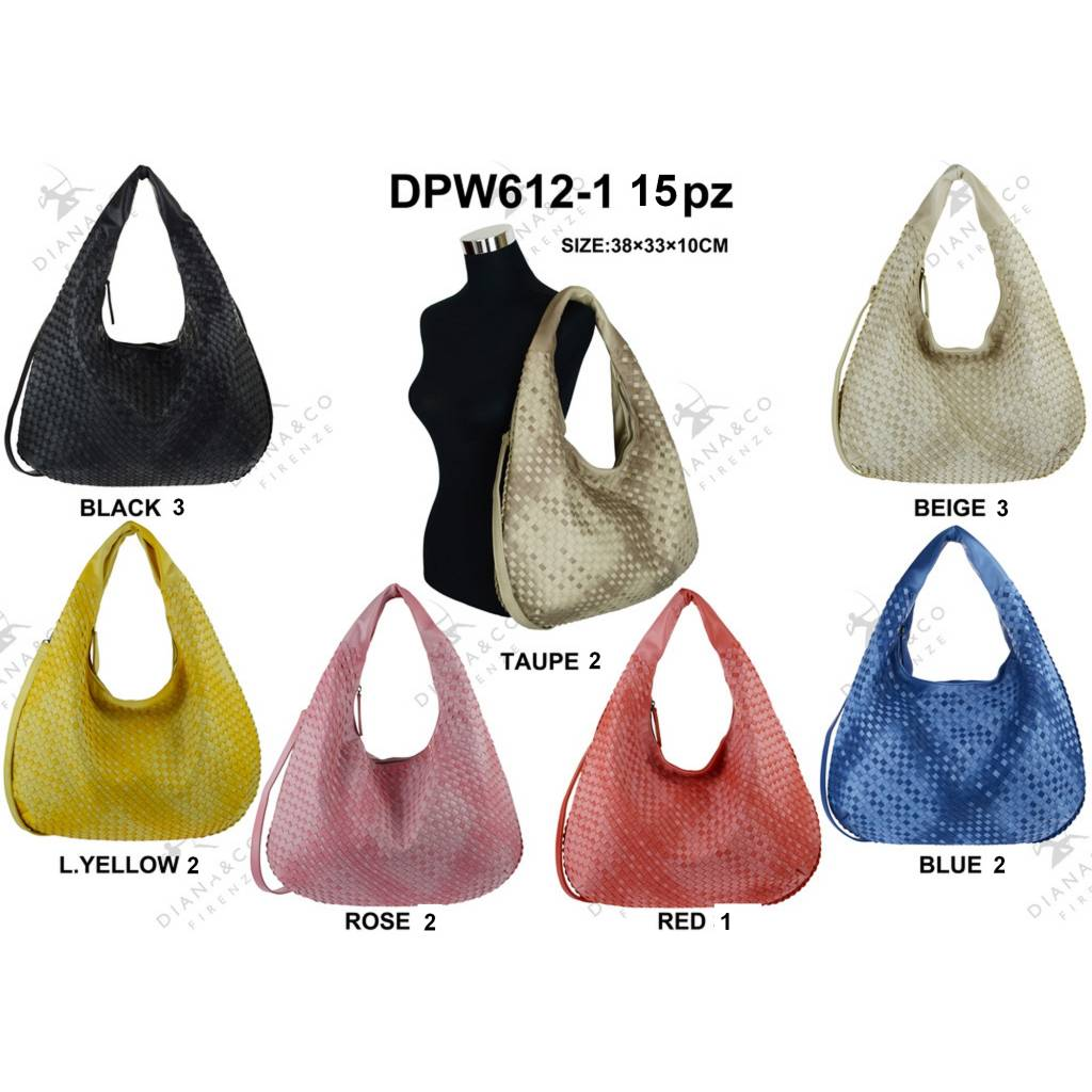 Diana&Co DPW612-1 Mixed colors 15 pcs