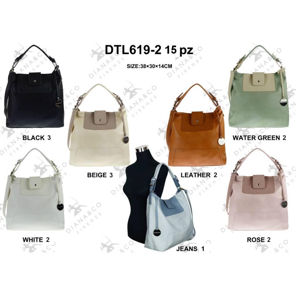 Diana&Co DTL619-2 Mixed colors 15 pcs