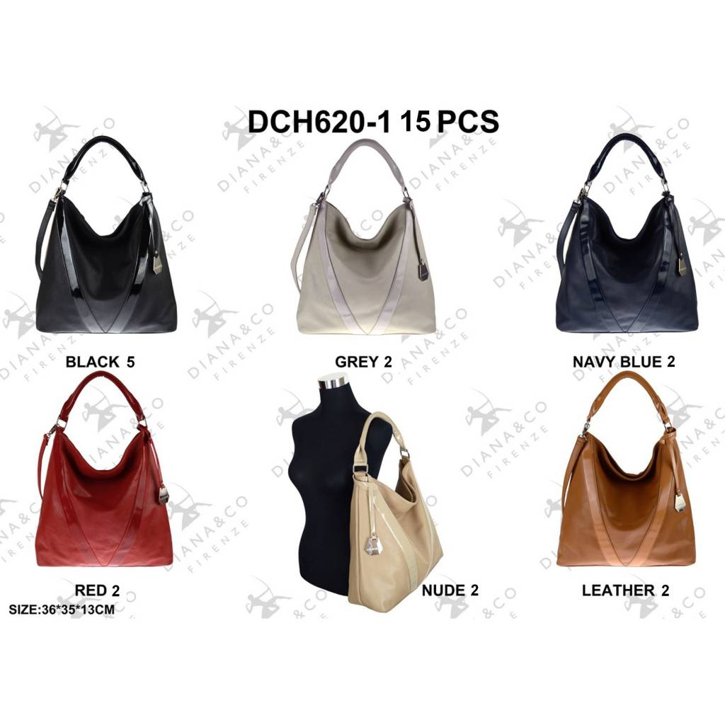 Diana&Co DCH620-1 Mixed colors 15 pcs
