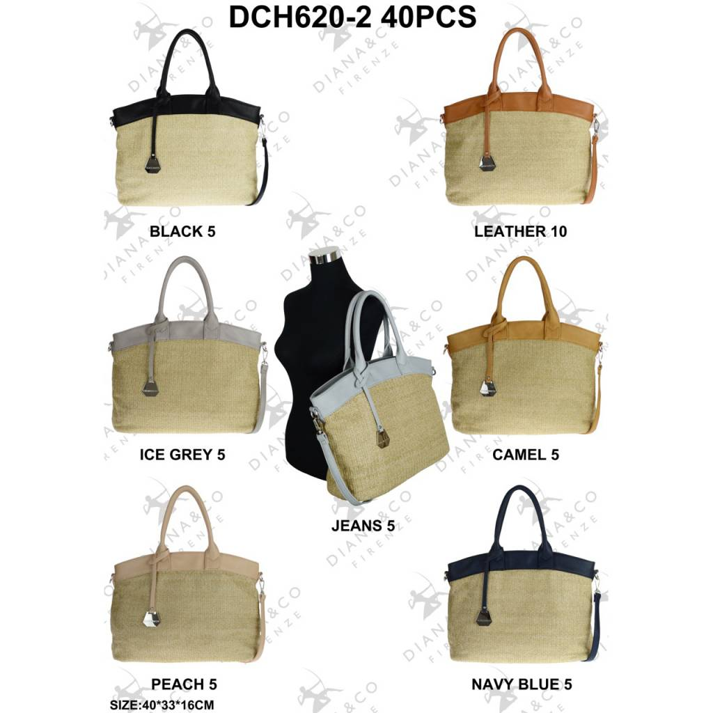 Diana&Co DCH620-2 Mixed colors 40 pcs