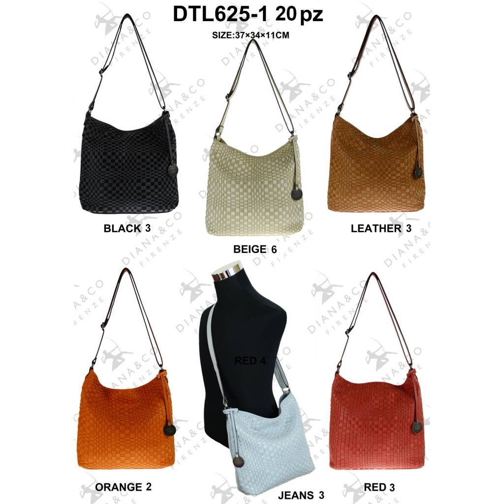 Diana&Co DTL625-1 Mixed colors 20 pcs
