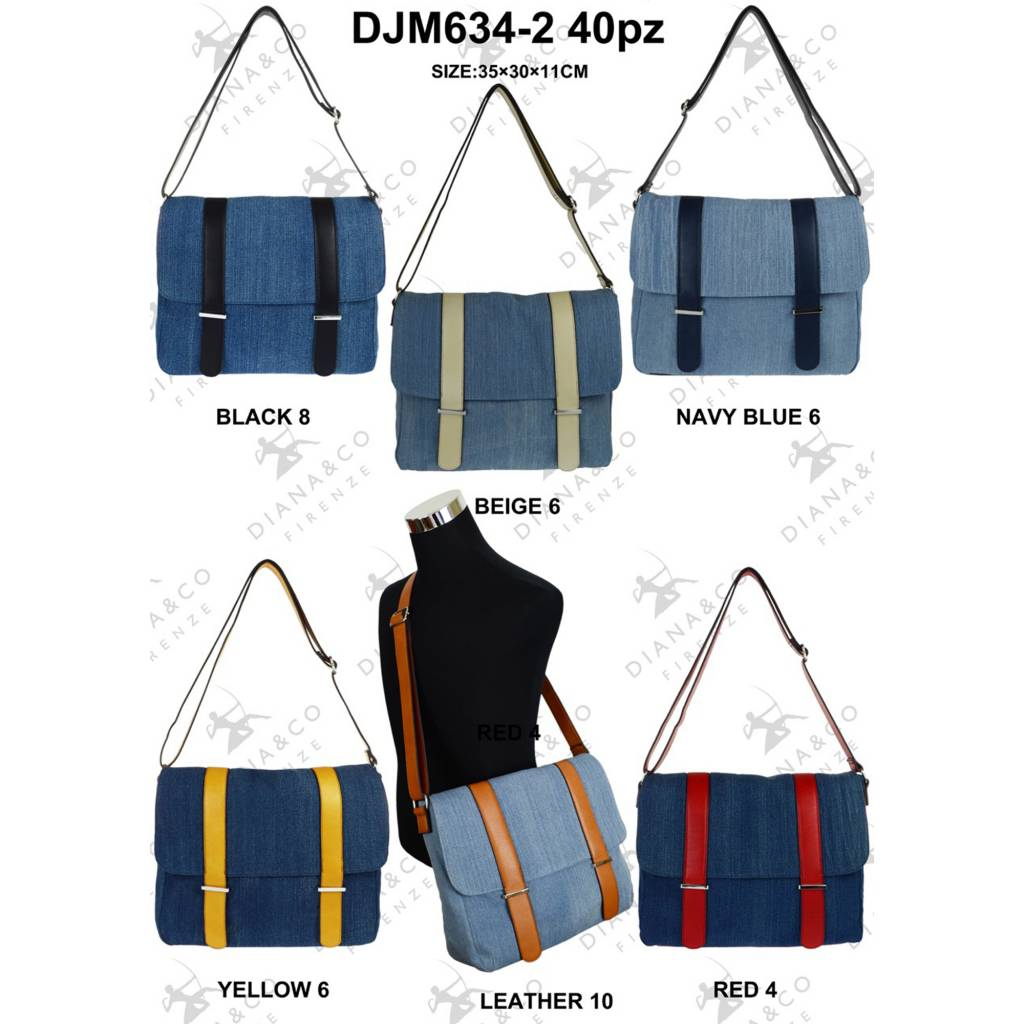 Diana&Co DJM634-2 Mixed colors 40 pcs