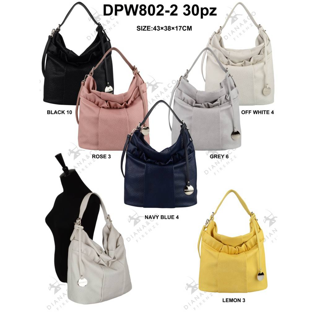 Diana&Co DPW802-2 Mixed colors 30 pcs