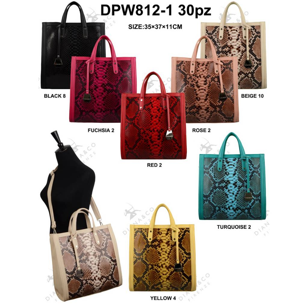 Diana&Co DPW812-1 Mixed colors 30 pcs