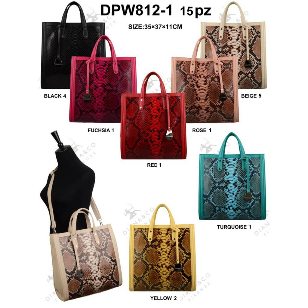 Diana&Co DPW812-1 Mixed colors 15 pcs