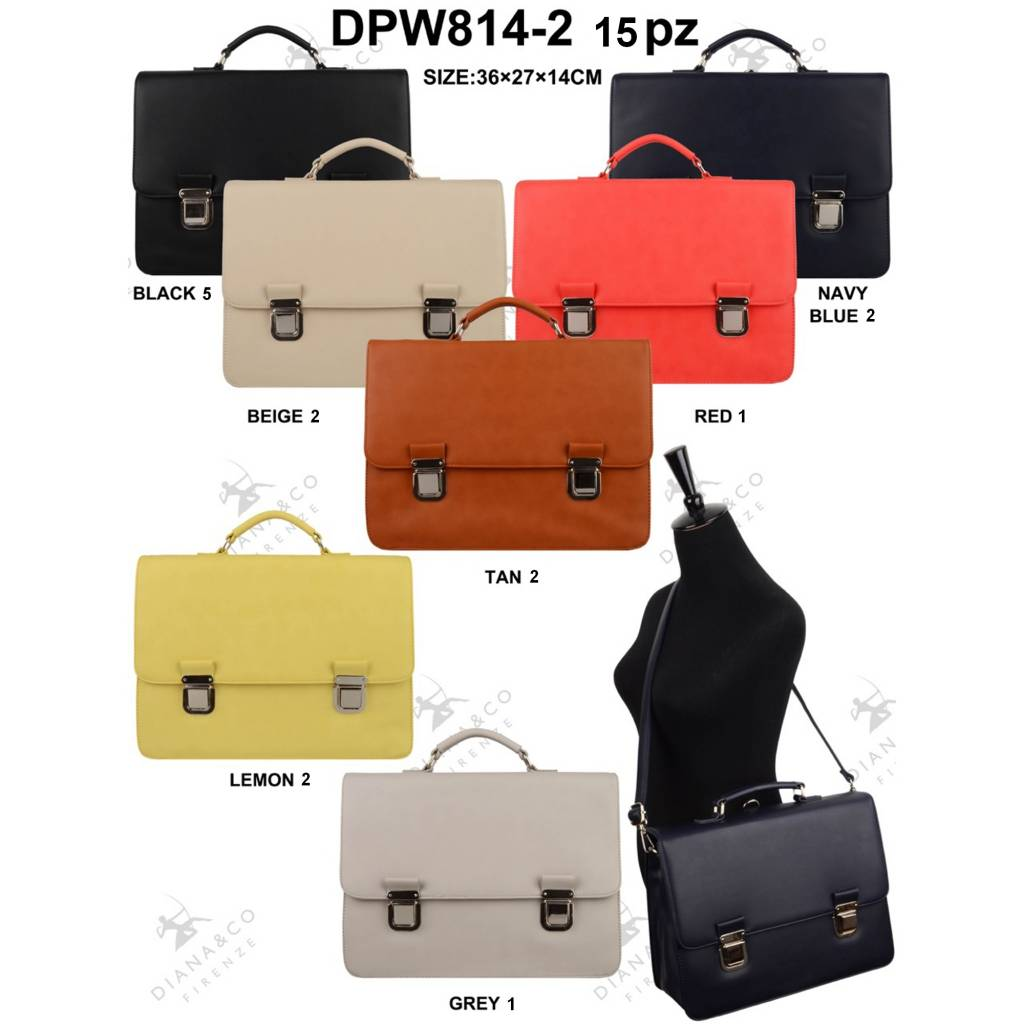 Diana&Co DPW814-2 Mixed colors 15 pcs