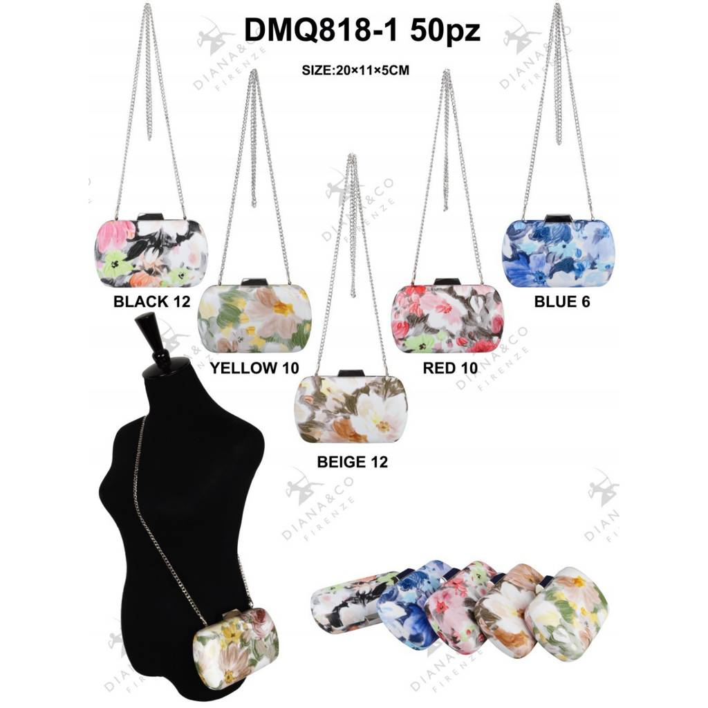 Diana&Co DMQ818-1 Mixed colors 50 pcs
