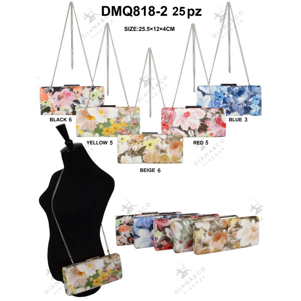 Diana&Co DMQ818-2 Mixed colors 25 pcs