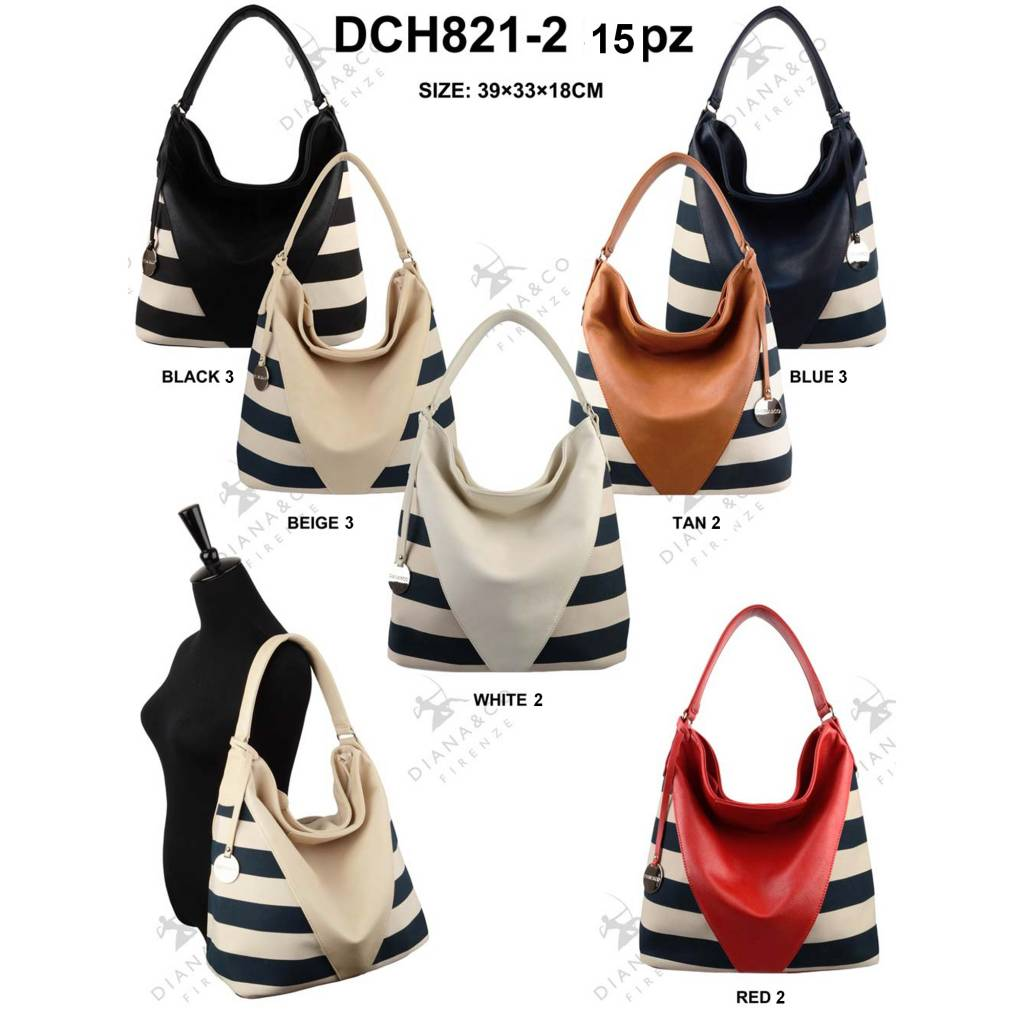 Diana&Co DCH821-2 Mixed colors 15 pcs