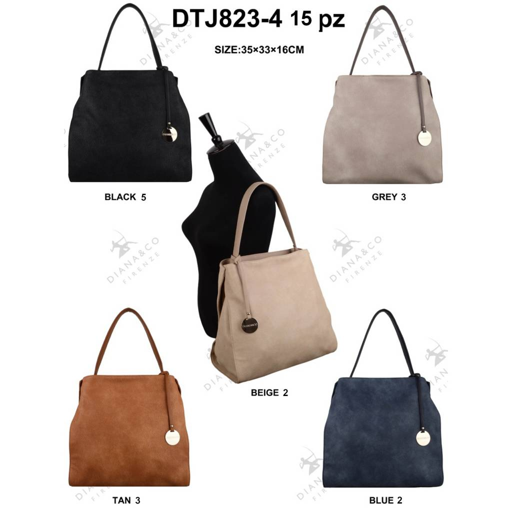 Diana&Co DTJ823-4 Mixed colors 15 pcs