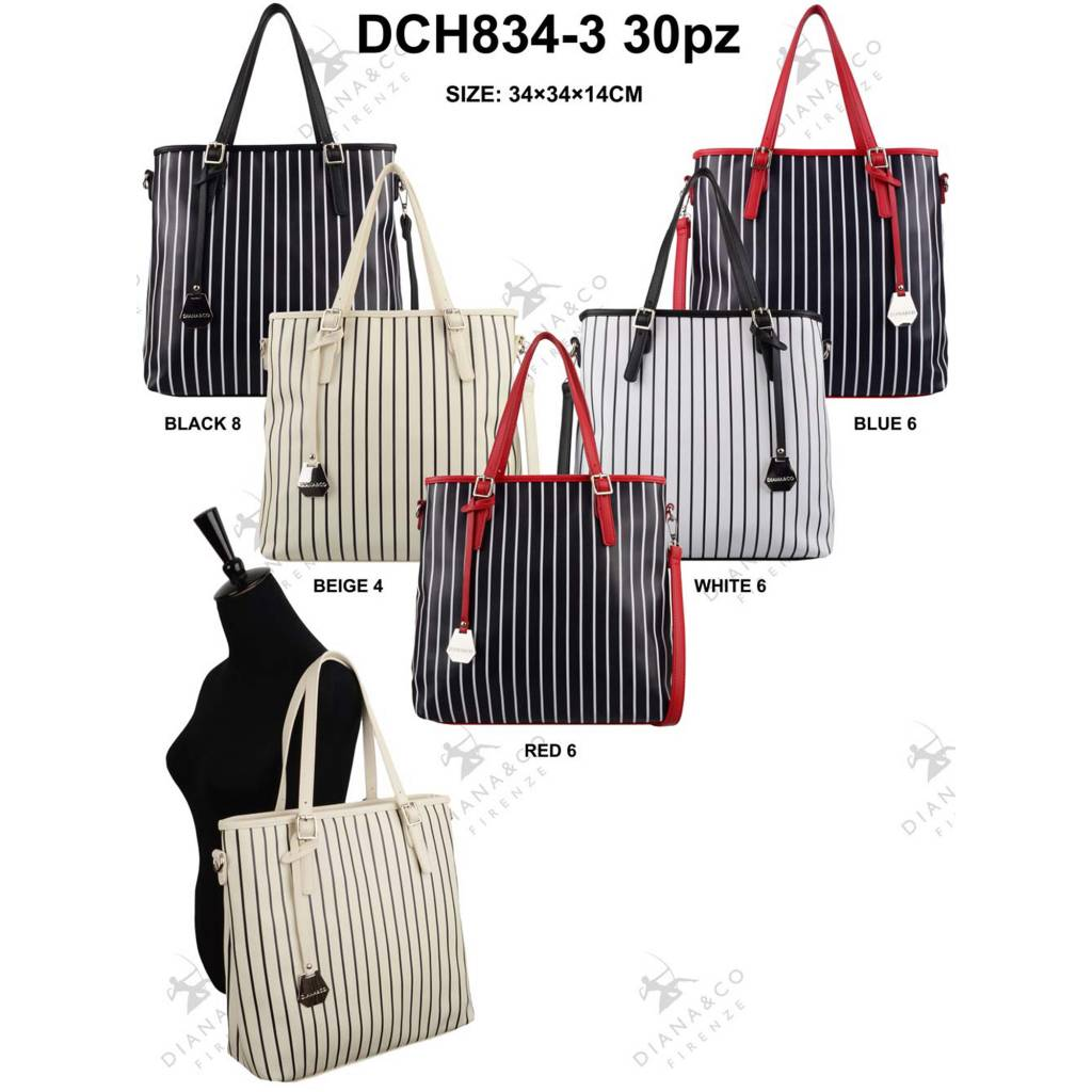 Diana&Co DCH834-3 Mixed colors 30 pcs