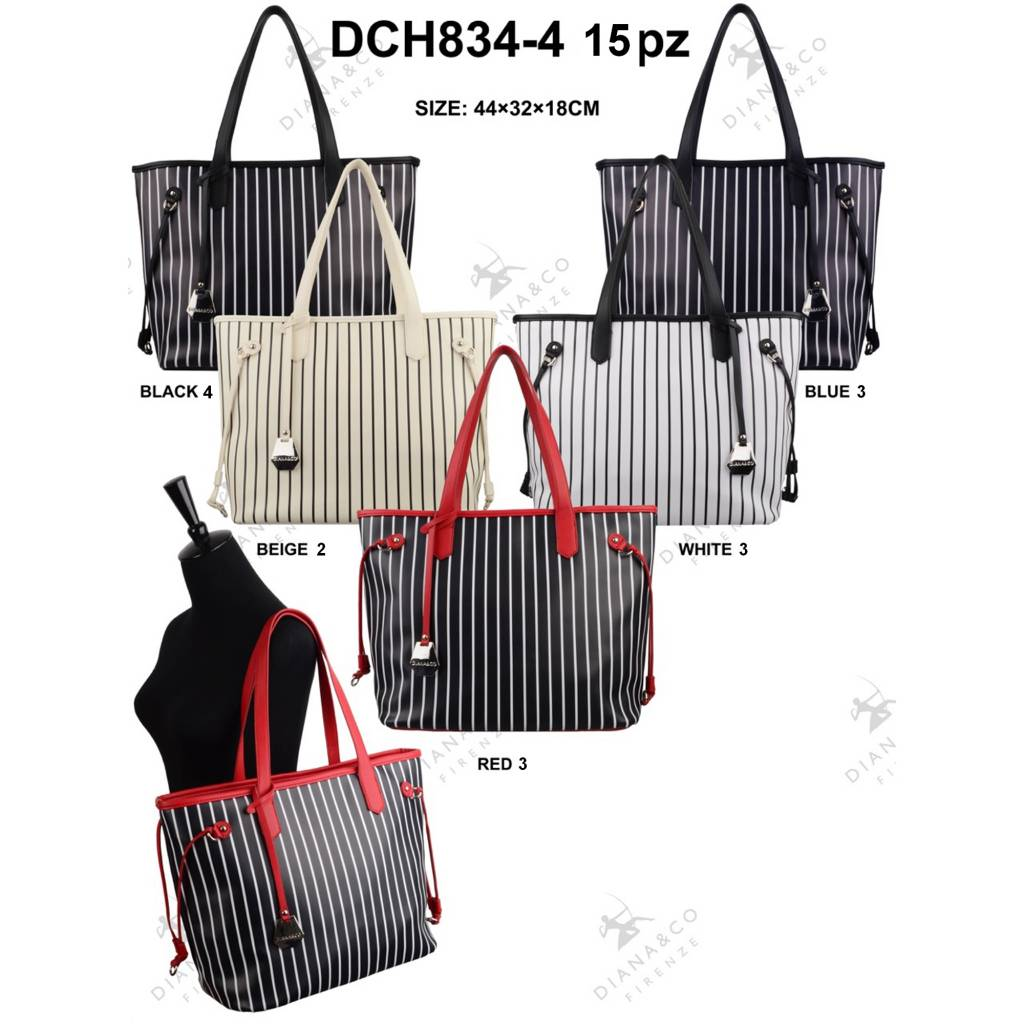 Diana&Co DCH834-4 Mixed colors 15 pcs