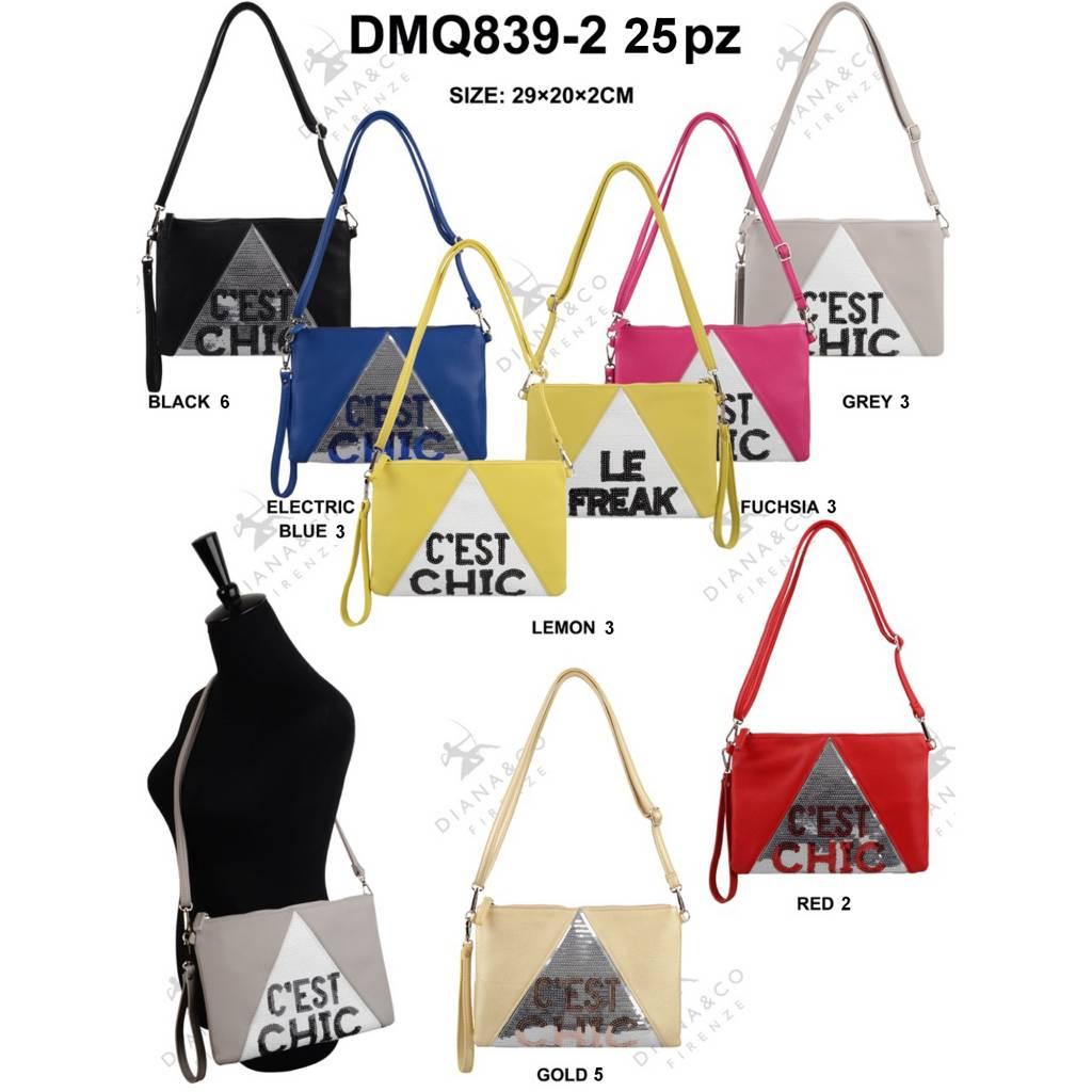 Diana&Co DMQ839-2 Mixed colors 25 pcs