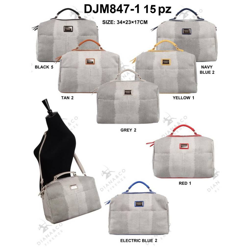 Diana&Co DJM847-1 Mixed colors 15 pcs