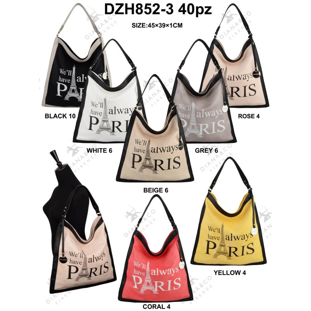 Diana&Co DZH852-3 Mixed Colors 40 pcs